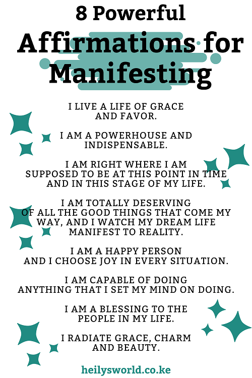 Powerful Affirmations to Manifest